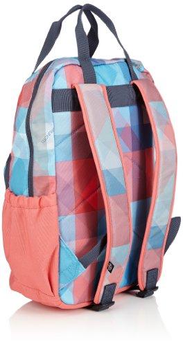 Brunotti Backpack Shopper Faded Check Ombre, Borsa a zainetto donna Multicolore (Mehrfarbig (Ombre 502))
