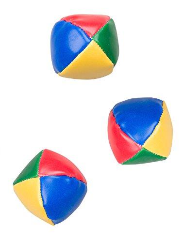 Unbekannt Jonglierbälle Kinder Spiel-Set 3 Stück bunt 5cm Einheitsgröße