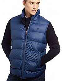VEDONEIRE Mens Padded Vest (3063 BLUE) gilet sleeveless coat