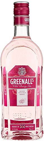 Greenall\'s Pink Gin Wild Berry, Brombeer-Himbeer-Note, 37.5{836645f211c8f7bf63836fc5e455b53a651554b2e5c64841682ebc0b9875715c}