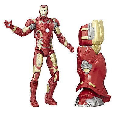 Marvel Avengers: Age of Ultron - Legends Series - Iron Man - 12 cm Action Figur + Zubehör