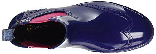 Trussardi Jeans 79s20451, Scarpe a Collo Alto Donna Multicolore (Lghtblue/Red)
