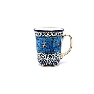 Polish Pottery Mug – 16 oz. Bistro – Unikat Signature U408C