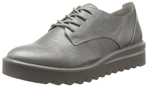 Tamaris Damen 23713 Sneaker, Silber (Silver Crack), 40 EU