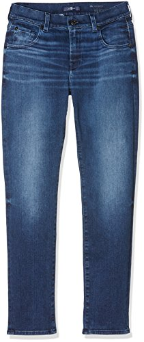 7 For All Mankind Relaxed Skinny, Jeans Femme, Bleu (Indigo), W26/L27 (Taille Fabricant: 26)