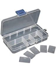 Caja Estuche de Plastico para Pesca Caza señuelos u objetos y accesorios para deporte 2207