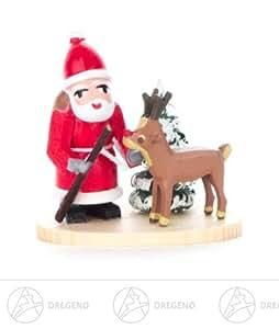 weihnachtliche miniatur weihnachtsmann mit. Black Bedroom Furniture Sets. Home Design Ideas
