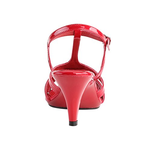 FABULICIOUS BELLE-322 Red Pat/Red