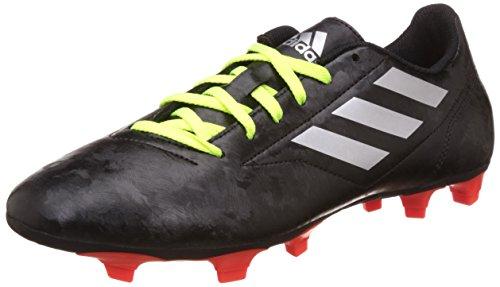 adidas Herren Conquisto Ii Fg Fußball-Trainingsschuhe Multicolore (Cblack/Silvmt/Solred)