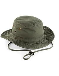 Tucuman Aventura - Sombrero ala ancha proteccion 50 (Verde Kaki)