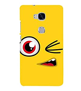 PrintVisa Designer Back Case Cover for Huawei Honor 5X :: Huawei Honor X5 :: Huawei Honor GR5 (Funny design :: Crazy cartoon design :: Cheerful design :: Lovely design :: Cartoon design)