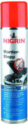 NIGRIN 72291 Marder-Stopp Spray, 400 ml