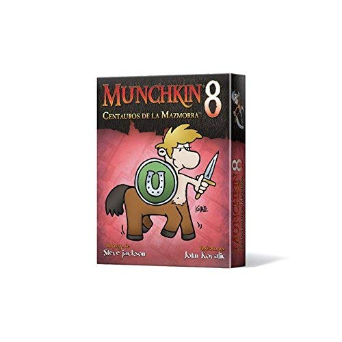 Edge Entertainment- Munchkin 8 centauros de la mazmorra - español, Color (EESJMU08)