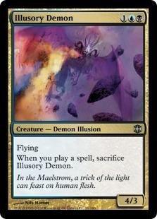 Magic: the Gathering - Illusory Demon - Alara Reborn - Foil by Magic: the Gathering