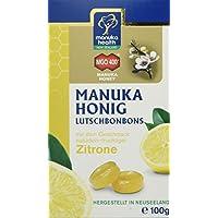 Manuka Health MGO 400 plus Zitronen Lutschbonbons, 1er Pack (1 x 100 g)