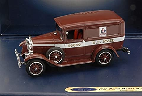FORD GENUINE PARTS FGP0441 FORD MODEL A LIVERY U.S.MAIL 1913 1:43 DIE CAST MODEL