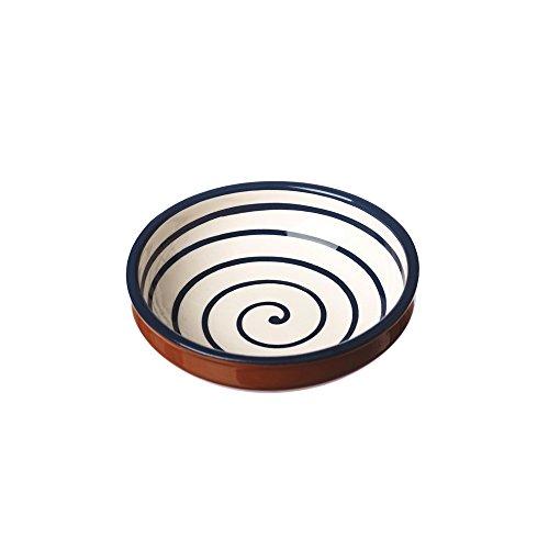 Naturally Med nm/Cm600402 Saladier, Blanc spirale