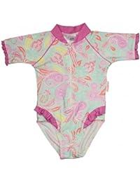 Sun Emporium Girl's Paisley Park Print UV Swimsuit