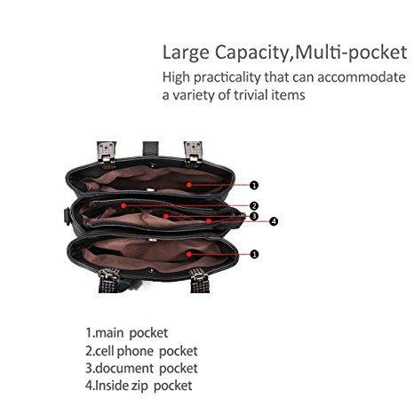 Hippolo Welle Paket Kuriertasche Damen weiblichen Beutel Handtaschen für Frauen Handtasche Rotbraun