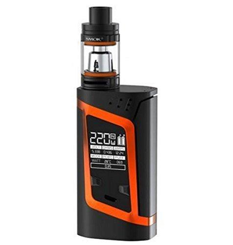 Preisvergleich Produktbild Smok Alien Kit - Komplett-Set für E-Zigarette ohne Tabak & Nikotin - kein Verkauf unter 18 Jahren - 220 W - Orange