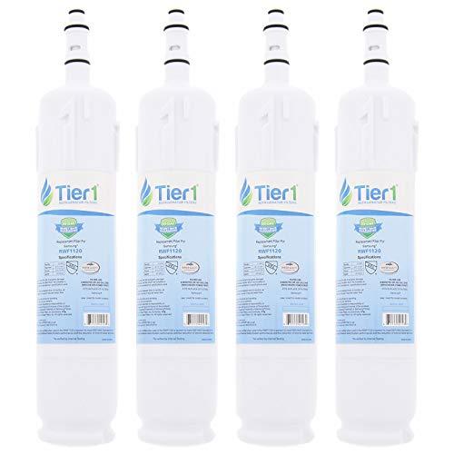 4Stück Tier1DA29-00012B Samsung, DA29-00012A Ersatz Kühlschrank Wasser Filter 4-Pack - Sand Filtration Wasser