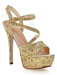 Bianca Scarpe Tacchi Amazon Scarpa it 4 7 Cm Donna Da xASqw0S