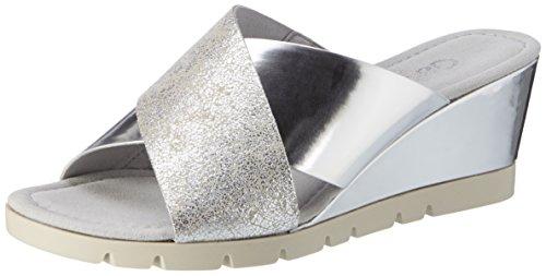 Gabor Shoes Damen 62.849 Plateau, Pink (Puder/arg. (Specc) 12), 40.5 EU