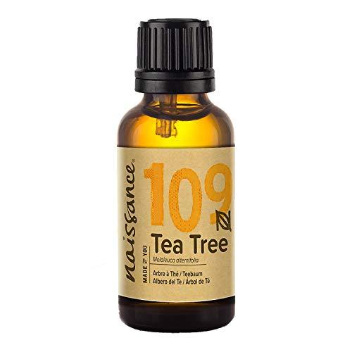 Naissance Aceite Esencial de Árbol de Té n. º 109 - 30ml - 100% Puro, vegano y no OGM