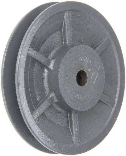 Browning 1VM50X 1/2Variable Pitch Laufrolle, 1Groove, beendet Bohrung, Gusseisen Laufrolle, für 3l, 4L oder ein, 5l oder B Abschnitt Gürtel -