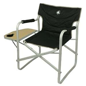 10T Stagedirector - Alu Camping-Stuhl Regiestuhl mit Seitenablage  faltbar 3900g leicht