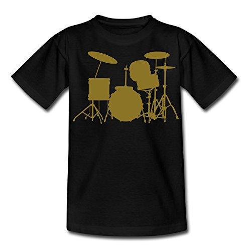 Spreadshirt Drum Kit Music Hobby Drummer Teenage T-shirt