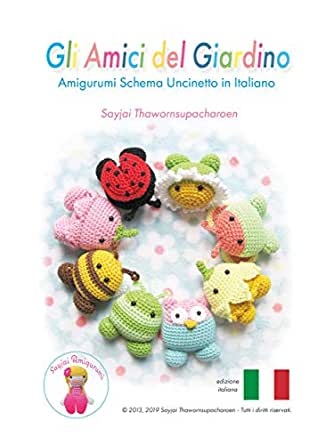 Bambola Amigurumi Uncinetto Tutorial🌷Muñeca Crochet - Doll ... | 445x334