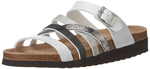 Softwaves 274 244, Mules Femme Mehrfarbig (WHITE MULTI)