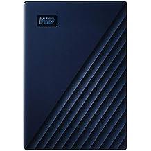 Western Digital WD 4 TB My Passport for Mac, Hard Disk Portatile, adatto per Time Machine, Protezione tramite password, Blu notte