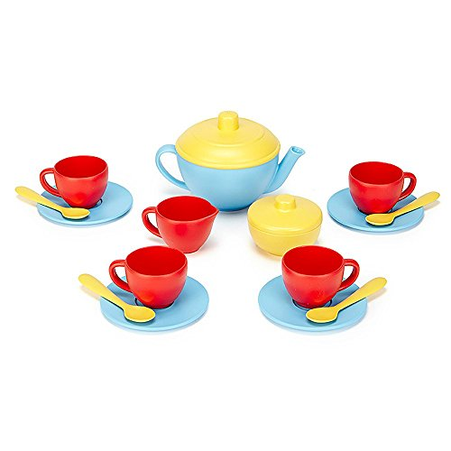 Tea Set - Blue (Toys Green Set)