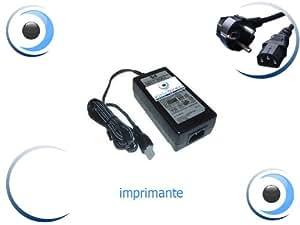 Adaptateur Alimentation Chargeur pour Imprimante HP COMPAQ Photosmart C3190 Visiodirect