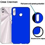 "Case Creation TM Back Case For Asus ZenFone 5 (2018) ZE620KL,Asus Zenfone 5 ZE620KL/ZenFone 5 (2018)/Asus Zenfone 5 6.2"" Inch 2018 Matte Finish Back Case Cover Guard Color - Royal Blue"