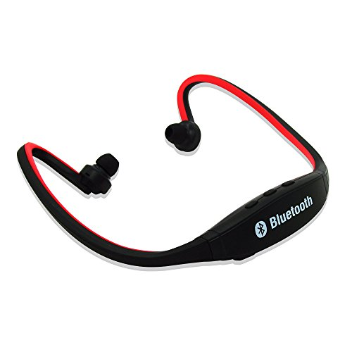 Mondpalast ® Rot Wireless Bluetooth Kopfhörer Headset für Laufsport und sport Kompatibel mit Smartphone Iphone 6 Plus 6s Plus 6 6S 5 5S 4 4S 3G 3GS Samsung Galaxy S7 S6 Edge Edge+ S5 S4 S4 Active S4 Mini S3 S3 Mini S2 Note 4 Ipod Touch 3 4 5 HTC ONE X ONE S Z520E LG G5 G3 G4 V10 K10 Nexus 4 Nexus 6 P760 Nokia Lumia 920 820 Sony Z1 Z2 Z3 C4 C5 M4 M5 Huawei P8 Mate S Ipad Mini 1 2 3 4 Ipad Air Ipad Pro Tablet Rot Trainer Hat