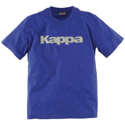 Kappa–Maglietta da uomo Ferry Blu clematide