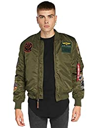 Green Industries 1 Ma Alpha Chaqueta Pilot Dark YaOxqw4