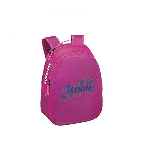 Wilson Kinder Backpack Match JR BKRD, Pink/Blau, 29 x 13 x 38 cm, 14 Liter, 0887768381417