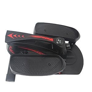 41FxhcnxyiL. SS300  - Havanadd Mini Fitness Swing Stepper, Elliptical Stepper Slimming Body Machine For Adults Steel Material,