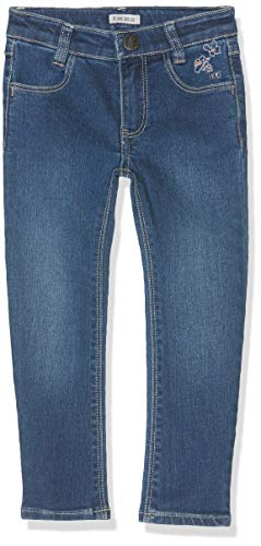IKKS Junior Denim Broderies Jeans, Bleu (Medium Blue 86), 3 Ans (Taille Fabricant:3A) Fill