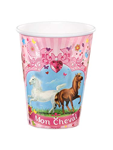 Dynastrib mi caballo vasos 9003565, multicolor, 25cl