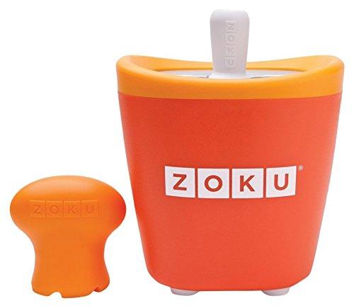 Zoku POP MAKER SINGOLO ORANGE Quick Pop? Maker singolo crea ghiaccioli sani e divertenti in soli 7-9