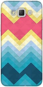 Snoogg Awesome colour chevron Hard Back Case Cover Shield For Samsung Galaxy Grand Max