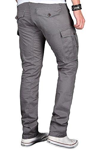 Alessandro Salvarini - Jeans - Slim - Uni - Homme Gris