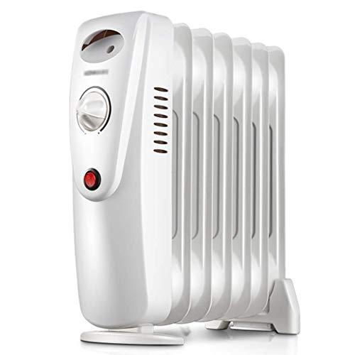 DWLXSH Calentador, llenos de Aceite Radiador Calentador de Espacios, 800W, Ahorro de energía, características...