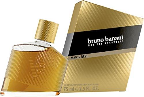 bruno banani Man\'s Best – Eau de Toilette Herren Parfüm Natural Spray – Eleganter, maskuliner Premiumduft für Männer – 1er Pack (1 x 75ml)