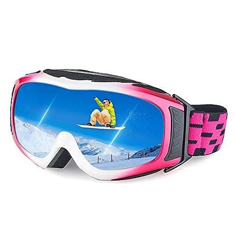 Ewin G05 Kids Ski Goggles, Snow Snowboard Snowmobile Skate Goggles
